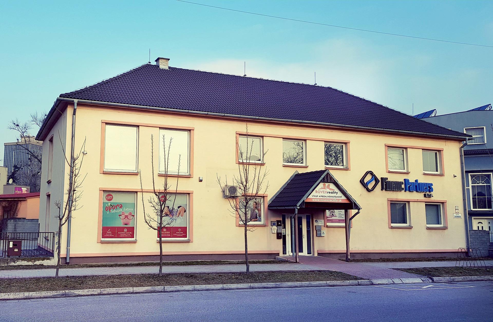 9f0857b06 Sídlo spoločnosti FINANC PARTNERS s.r.o. v Partizánskom